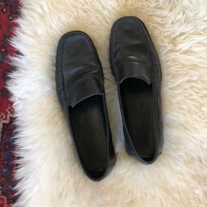 Cole Haan | Black Leather Country Loafers